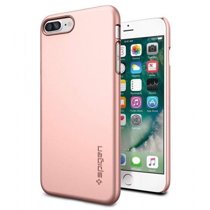 Чехол-накладка Spigen Thin Fit для Apple iPhone 7 Plus/8 Plus Rose Gold (SGP 043CS20474) фото