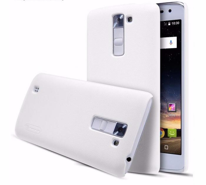 Чехол-накладка Nillkin Frosted Shield для LG K7 (X210DS) пластиковый белыйдля LG<br>Чехол-накладка Nillkin Frosted Shield для LG K7 (X210DS) пластиковый белый<br>