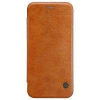Купить Чехол-книжка Nillkin QIN Leather Case для Google Pixel натуральная кожа (коричневый)
