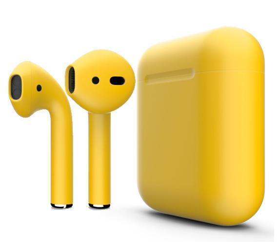 Купить Беспроводные Bluetooth cтерео-наушники Apple AirPods Matte Orange