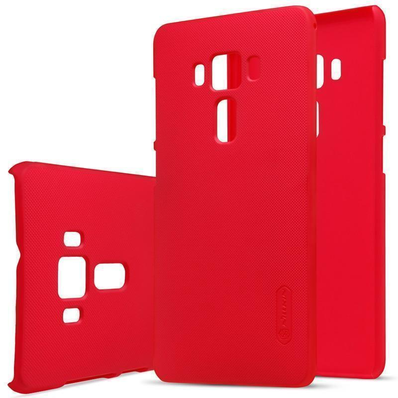 Чехол-накладка Nillkin Frosted Shield для Asus Zenfone 3 Deluxe ZS570KL пластиковый красныйдля ASUS<br>Чехол-накладка Nillkin Frosted Shield для Asus Zenfone 3 Deluxe ZS570KL пластиковый красный<br>