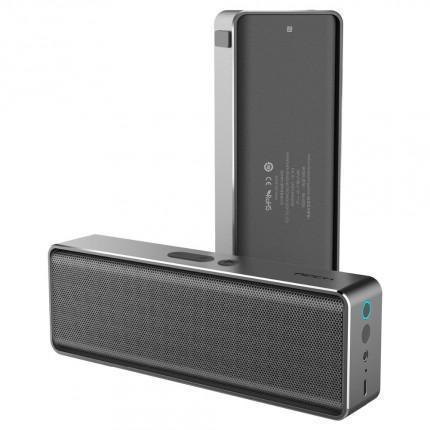 Портативная колонка Rock Mubox Bluetooth Speaker SilverПортативная акустика, Колонки<br>Портативная колонка Rock Mubox Bluetooth Speaker Silver<br>
