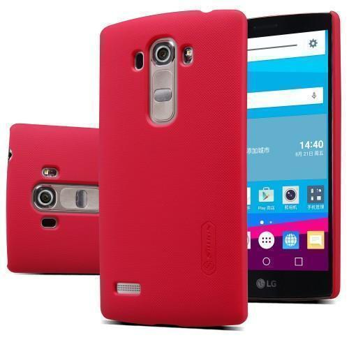 Чехол-накладка Nillkin Frosted Shield для LG G4s / H736 / H734 (пластиковый) красныйдля LG<br>Чехол-накладка Nillkin Frosted Shield для LG G4s / H736 / H734 (пластиковый) красный<br>