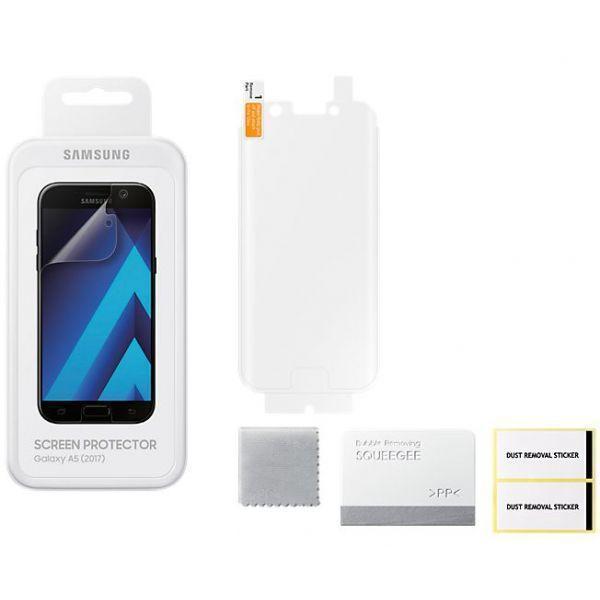Защитная пленка Samsung для Galaxy A5 (2017) (ET-FA520CTEGRU)для Samsung<br>Защитная пленка Samsung для Galaxy A5 (2017) (ET-FA520CTEGRU)<br>