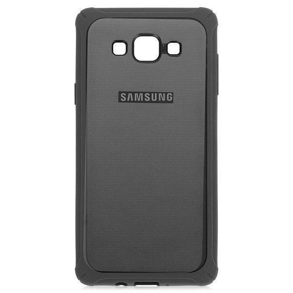 Чехол-накладка Samsung Protective Cover для Galaxy A7 пластик черный EF-PA700BAEGRUдля Samsung<br>Чехол-накладка Samsung Protective Cover для Galaxy A7 пластик черный EF-PA700BAEGRU<br>