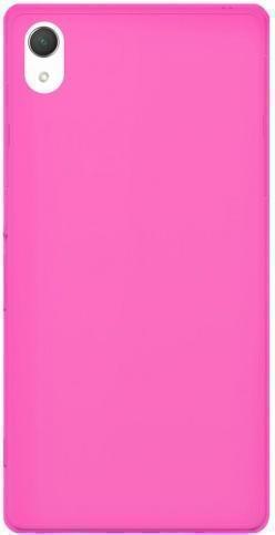 Купить Чехол-накладка Puro для Sony Xperia Z3 Compact силиконовый (розовый)