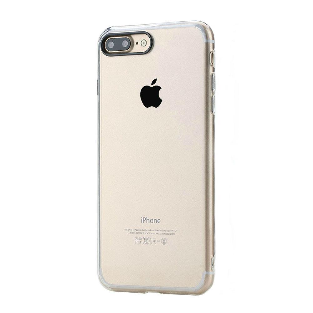 Купить со скидкой Чехол-накладка Rock Pure Series для Apple iPhone 7 Plus/8 Plus пластик-силикон прозрачный