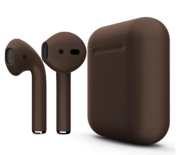 Купить Беспроводные Bluetooth cтерео-наушники Apple AirPods Matte Brown