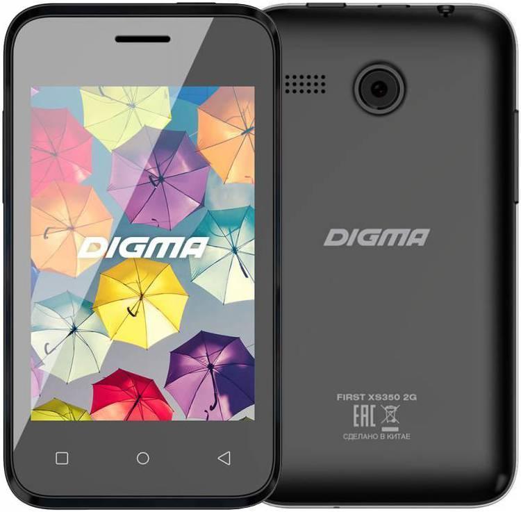 Digma FIRST XS350 2G (черный)Digma<br>Digma FIRST XS350 2G (черный)<br>