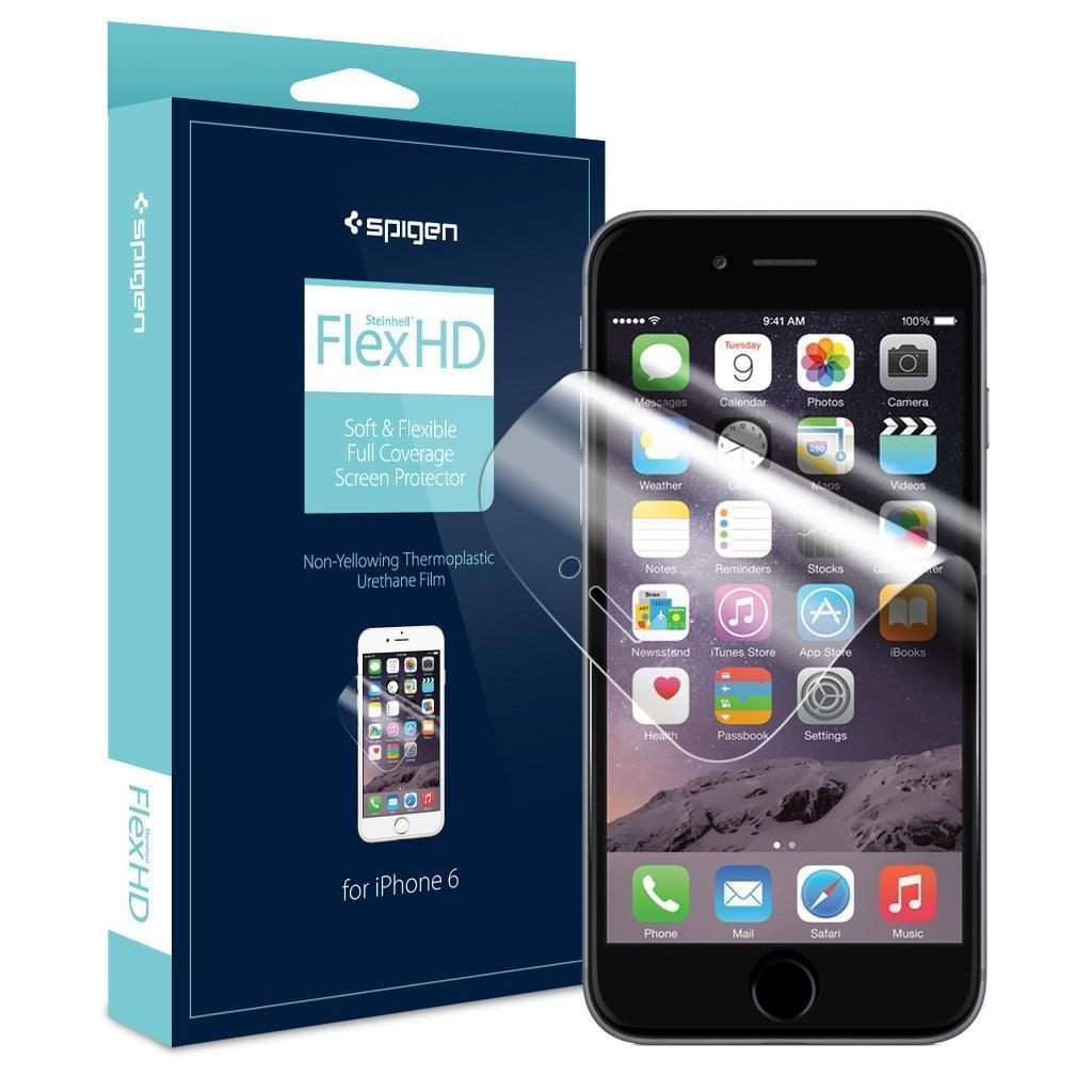 Защитная пленка Spigen SGP11088 Steinheil Flex HD для Apple iPhone 6/6Sдля iPhone 6/6S<br>Защитная пленка Spigen SGP11088 Steinheil Flex HD для Apple iPhone 6/6S<br>