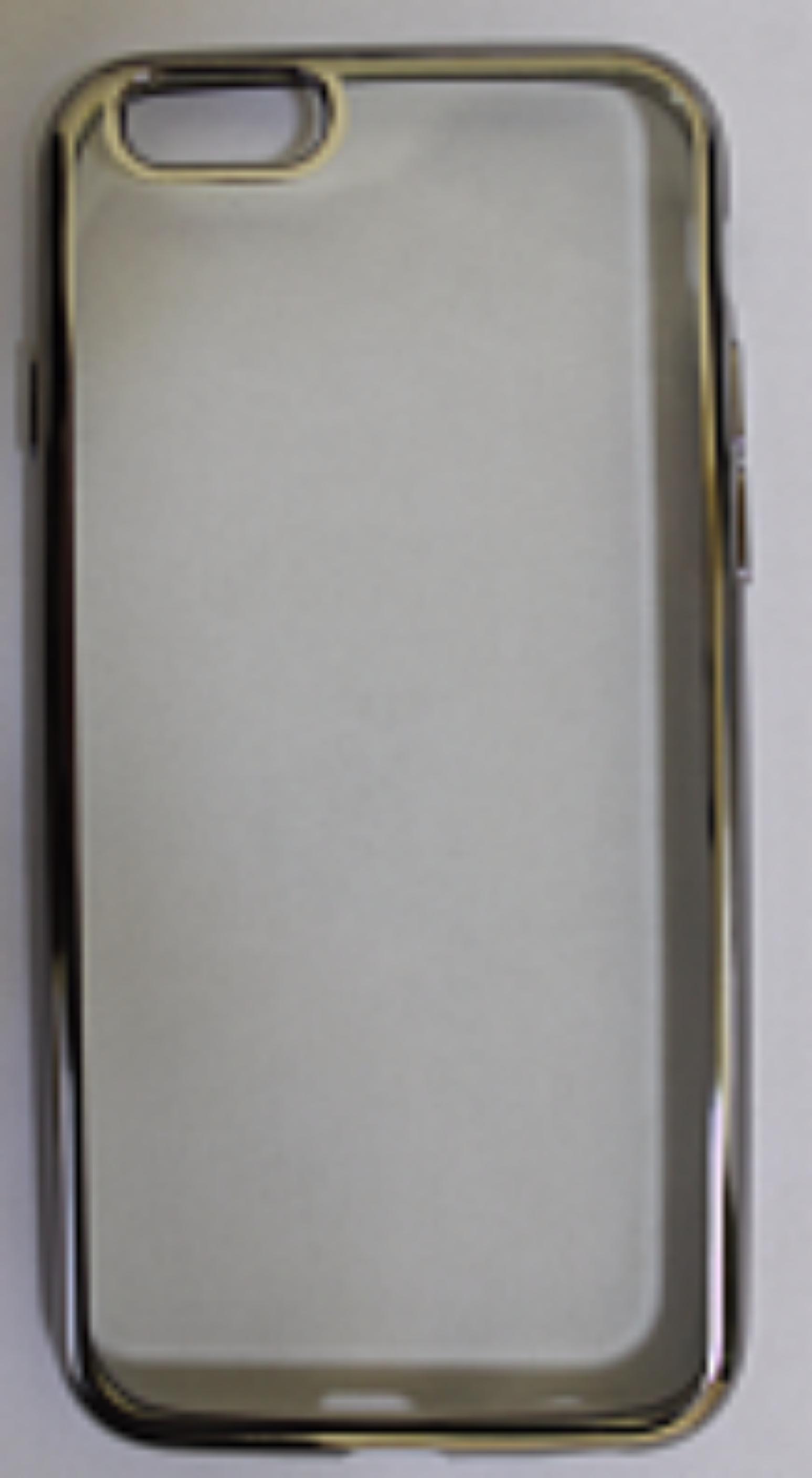 Купить Чехол-накладка Double Color Series для Apple iPhone 7/8 силиконовый прозрачный (рамка Silver)