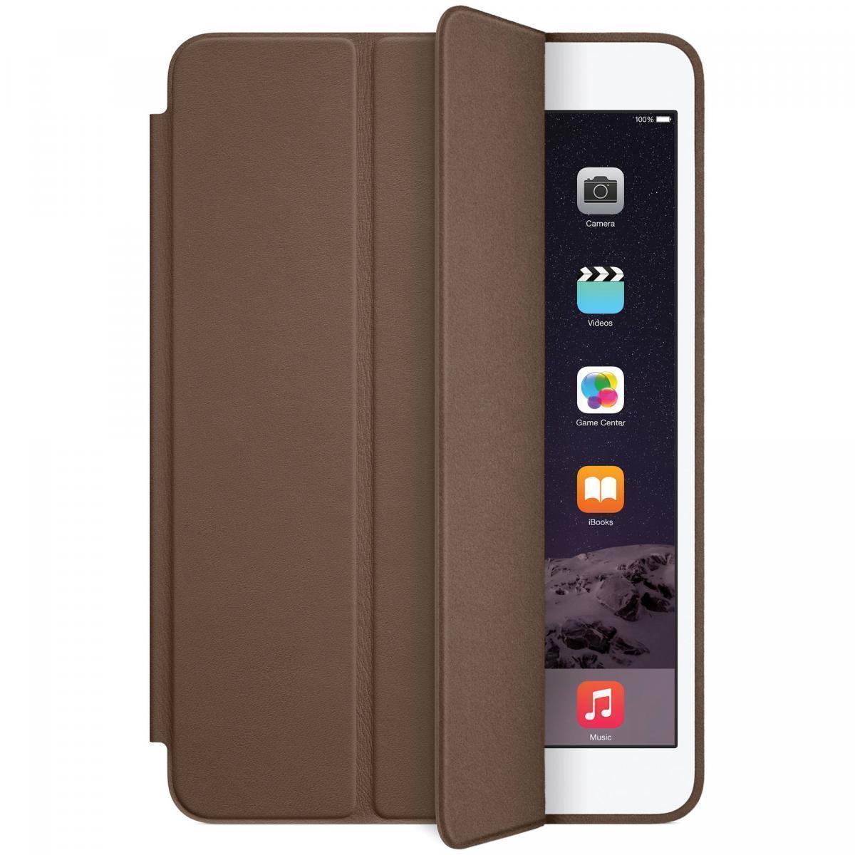 Чехол-книжка Smart Case для Apple iPad mini 1/2/3 (искусственная кожа с подставкой) темно-коричневыйдля Apple iPad mini 1/2/3<br>Чехол-книжка Smart Case для Apple iPad mini 1/2/3 (искусственная кожа с подставкой) темно-коричневый<br>