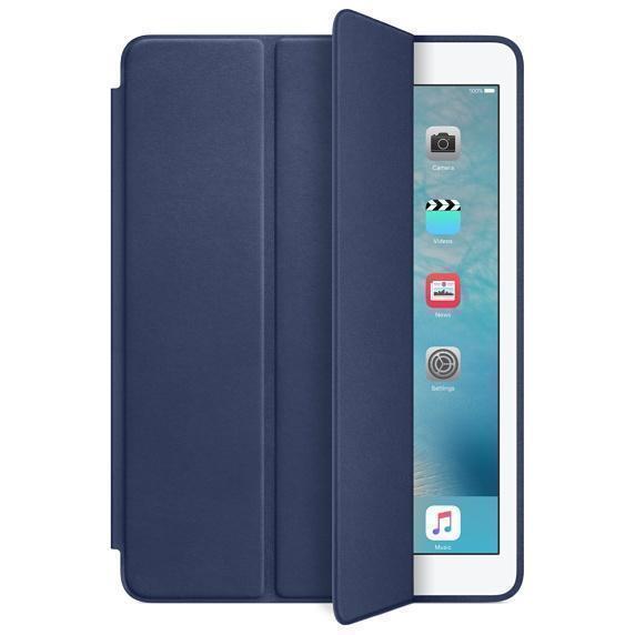 Купить со скидкой Чехол-книжка Smart Case для Apple iPad Air (искусственная кожа с подставкой) темно-синий
