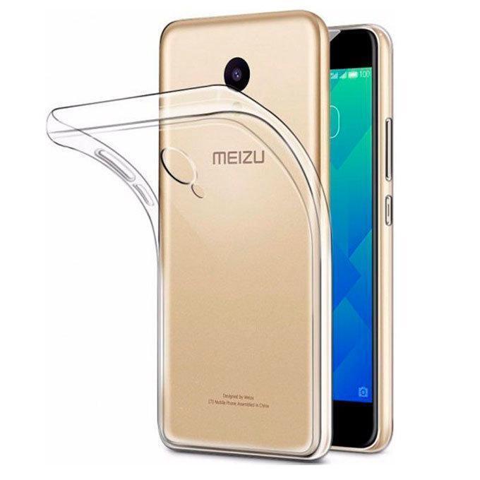 Чехол-накладка для Meizu M5 силиконовый прозрачныйдля Meizu<br>Чехол-накладка для Meizu M5 силиконовый прозрачный<br>