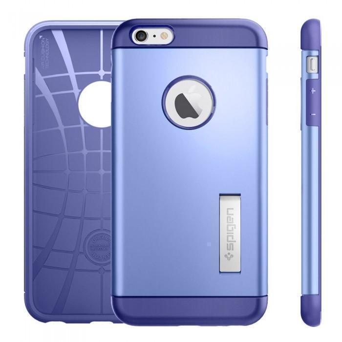 Чехол-накладка Spigen Slim Armor для Apple iPhone 6 Plus/6S Plus (SGP11654) фиолетовыйдля iPhone 6 Plus/6S Plus<br>Чехол-накладка Spigen Slim Armor для Apple iPhone 6 Plus/6S Plus (SGP11654) фиолетовый<br>