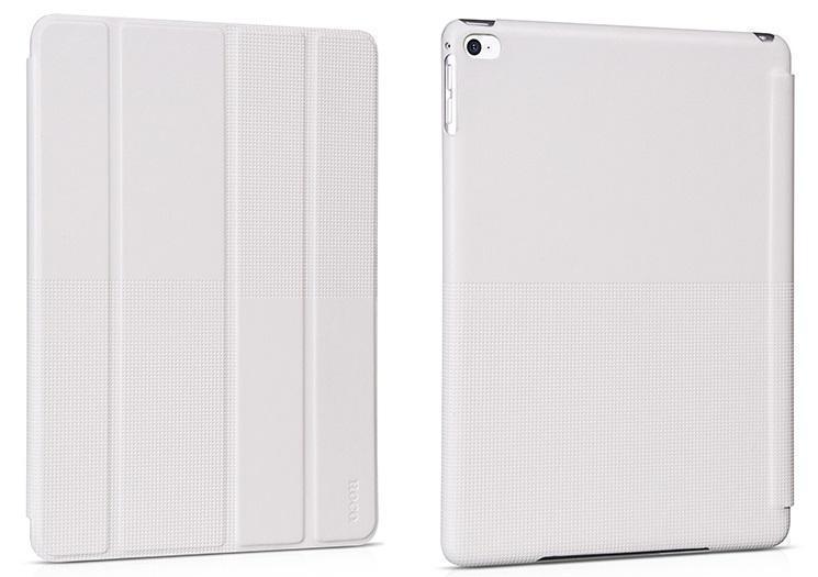 Чехол-книжка Hoco Crystal Series для Apple iPad Air / 2017 (искусственная кожа с подставкой) белыйдля Apple iPad Air<br>Чехол-книжка Hoco Crystal Series для Apple iPad Air / 2017 (искусственная кожа с подставкой) белый<br>