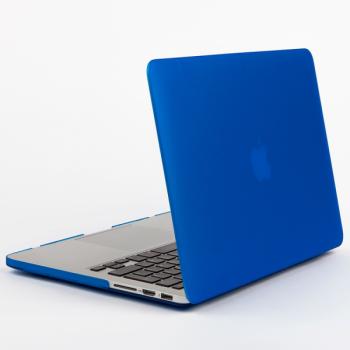 Чехол-накладка BTA-Workshop для Apple MacBook Air 13 матовая прозрачно-синяя