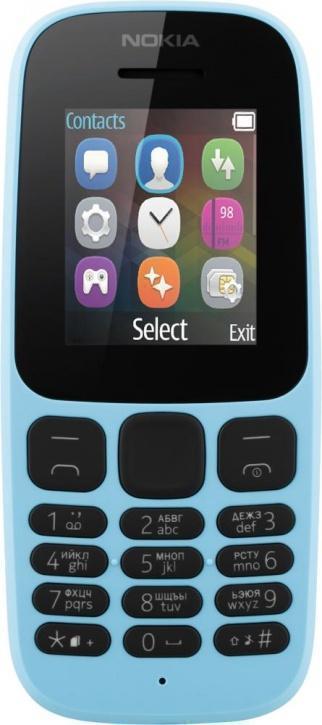 Nokia 105 (2017) Dual Sim Blue (A00028317)Nokia<br>Nokia 105 (2017) Dual Sim Blue (A00028317)<br>