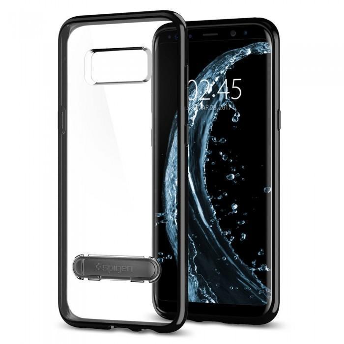Чехол-накладка Spigen Ultra Hybrid S для Samsung Galaxy S8 черный оникс (SGP 565CS21633)для Samsung<br>Чехол-накладка Spigen Ultra Hybrid S для Samsung Galaxy S8 черный оникс (SGP 565CS21633)<br>
