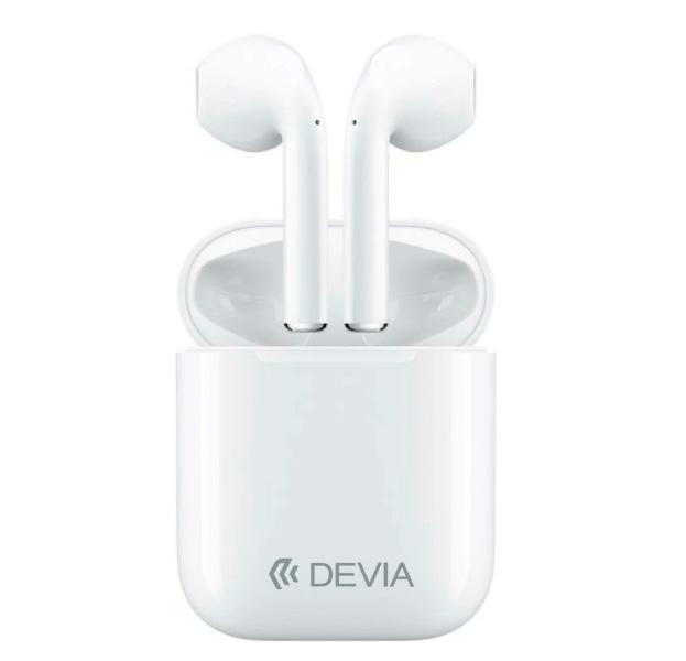 Купить Беспроводные Bluetooth cтерео-наушники Devia TWS BT5.0 white