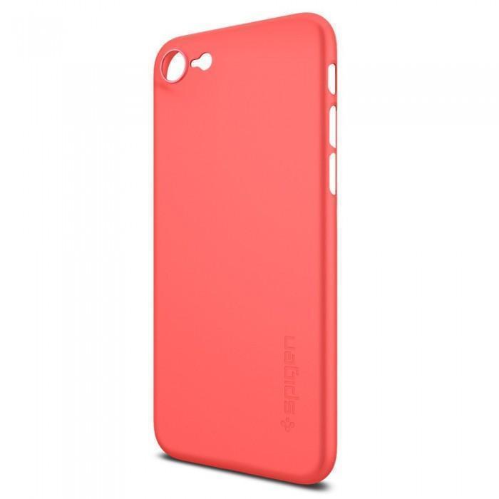 Чехол-накладка Spigen Air Skin для Apple iPhone 7/8 пластик красный (SGP 042CS21722)для iPhone 7/8<br>Чехол-накладка Spigen Air Skin для Apple iPhone 7/8 пластик красный (SGP 042CS21722)<br>