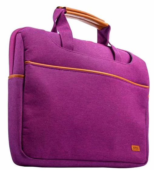 Чехол с ручкой для ноутбука XOOMZ 390x270x57mm для Apple MacBook до 13 Дюймов Фиолетовый
