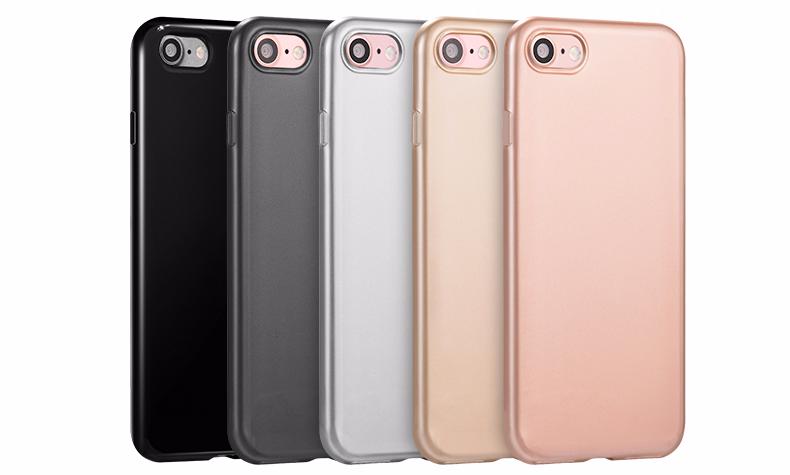 Чехол-накладка Hoco Double Color Series для Apple iPhone 7/8 силиконовый Space Grey
