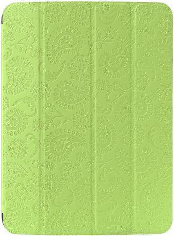 Чехол-книжка Gissar Paisley для Samsung Galaxy Tab 3 10.1 (P5200/P5210) натуральная кожа зеленый