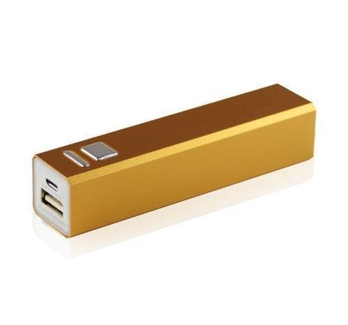 Универсальный внешний аккумулятор Power Bank 2600 mAh, 1 А, USBx1 пластик orangeUSBx1<br>Универсальный внешний аккумулятор Power Bank 2600 mAh, 1 А, USBx1 пластик orange<br>