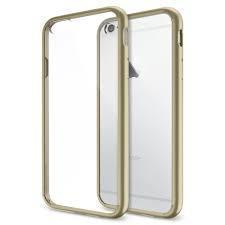 Чехол-накладка Spigen Ultra Hybrid для Apple iPhone 6/6S пластик-резина Champagne Gold (SGP10949)для iPhone 6/6S<br>Чехол-накладка Spigen Ultra Hybrid для Apple iPhone 6/6S пластик-резина Champagne Gold (SGP10949)<br>