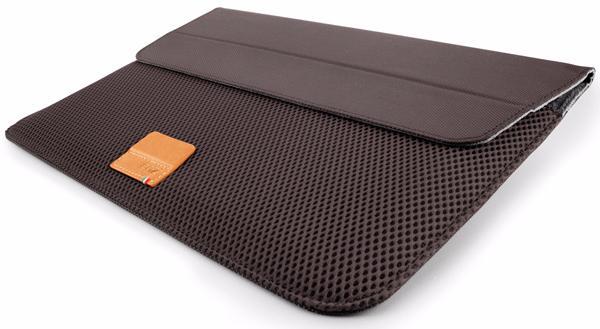 Чехол-конверт Cozistyle Stand Sleeve Aria Stone для Apple MacBook Pro Retina 15 синтетика (микрофибра) темно-коричневый