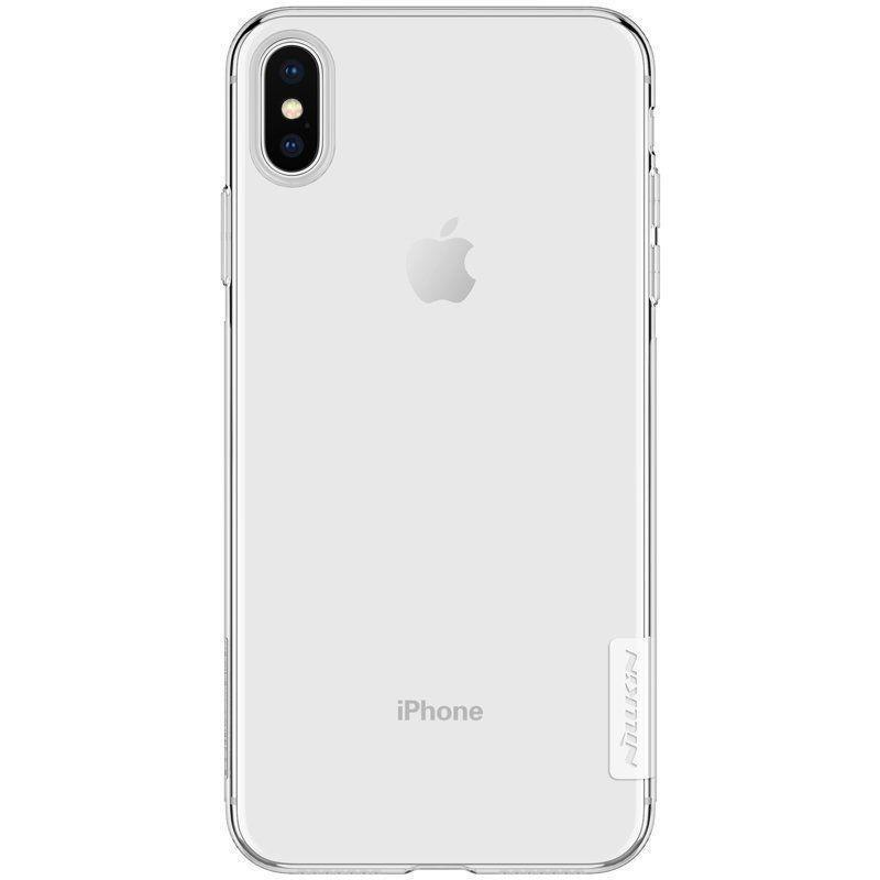 Купить Чехол-накладка Nillkin Series TPU для Apple iPhone X/Xs силиконовый прозрачный