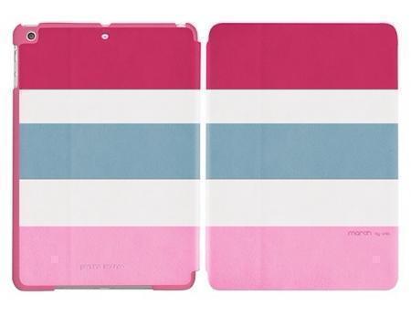 Чехол-книжка Unid Morch для Apple iPad Air (искусственная кожа с подставкой) розовыйдля Apple iPad Air<br>Чехол-книжка Unid Morch для Apple iPad Air (искусственная кожа с подставкой) розовый<br>