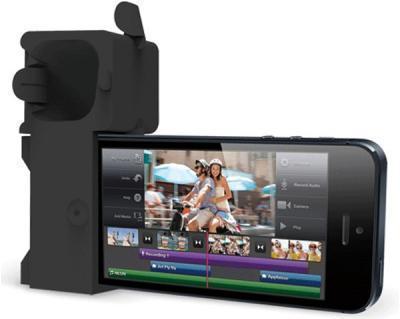 Подставка Аудиоусилитель Ozaki OM936GA O!Music Zoo Dog для Apple iPhone SE/5S/5 резиновая (black)