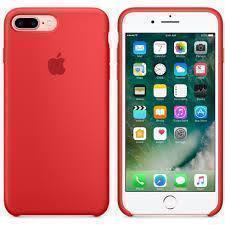Чехол-накладка Apple Silicone Case для iPhone 7 Plus/8 Plus силиконовый красный MMQV2ZM/Aдля iPhone 7 Plus/8 Plus<br>Чехол-накладка Apple Silicone Case для iPhone 7 Plus/8 Plus силиконовый красный MMQV2ZM/A<br>