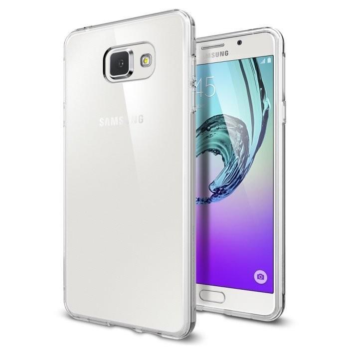 Картинка для Чехол-накладка Spigen Liquid Crystal для Samsung Galaxy A7 (2016) SGP11841 (Crystal Clear)