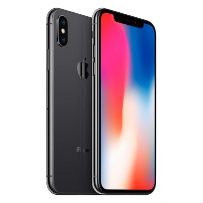 Apple iPhone X 256Gb (Space Gray) (MQAF2RU/A) [УЦЕНКА - Б/У]