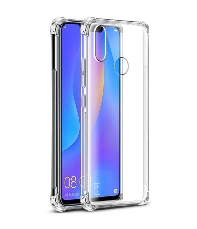 Купить Чехол-накладка Armor для Huawei P Smart (2019) противоударный силиконовый (прозрачный)