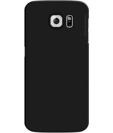 Чехол-накладка Deppa Air Case для Samsung Galaxy S6 (SM-G920) пластик черный + защитная пленкадля Samsung<br>Чехол-накладка Deppa Air Case для Samsung Galaxy S6 (SM-G920) пластик черный + защитная пленка<br>