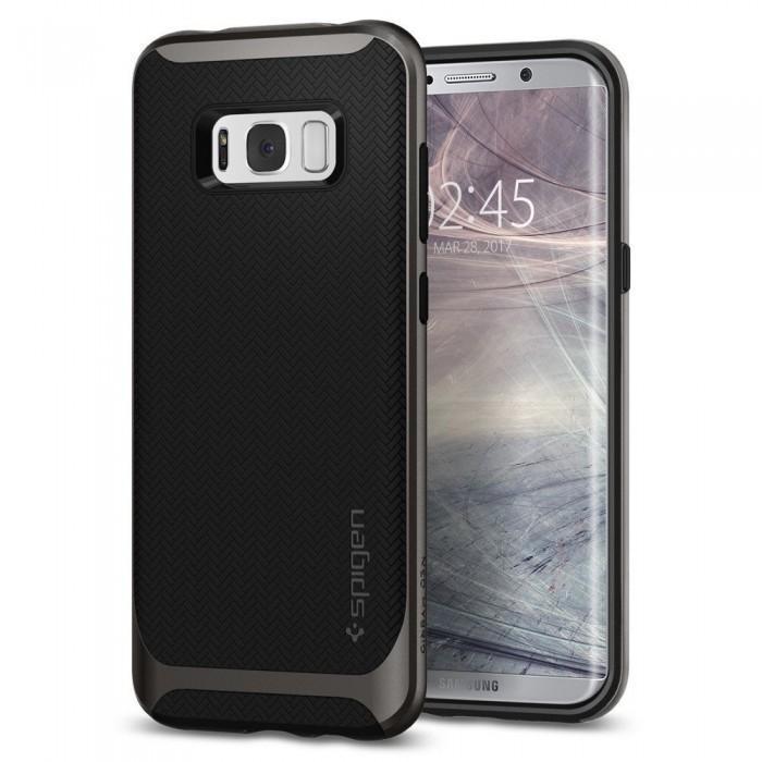 Чехол-накладка Spigen Neo Hybrid для Samsung Galaxy S8+ темно-серый (SGP 571CS21646)для Samsung<br>Чехол-накладка Spigen Neo Hybrid для Samsung Galaxy S8+ темно-серый (SGP 571CS21646)<br>