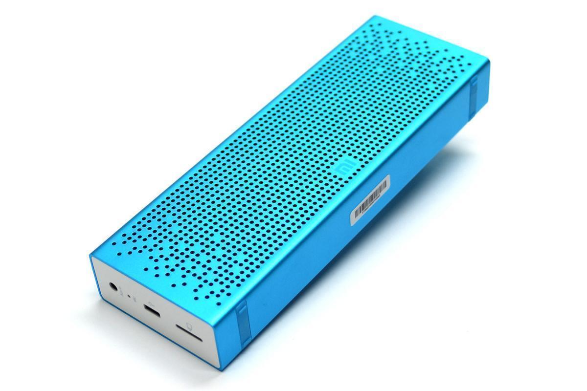 Купить со скидкой Портативная колонка Xiaomi Mi Mini Square Box 2 Bluetooth Blue (Pocket Audio)