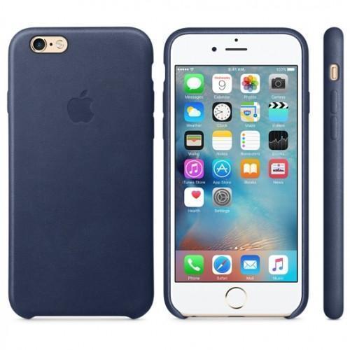 Чехол-накладка Apple Leather Case для iPhone 7/8 натуральная кожа Midnight Blue (MMY32ZM/A)для iPhone 7/8<br>Чехол-накладка Apple Leather Case для iPhone 7/8 натуральная кожа Midnight Blue (MMY32ZM/A)<br>
