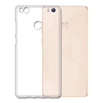 Чехол-накладка для Xiaomi Mi4 / Mi4s силиконовый (прозрачный) фото