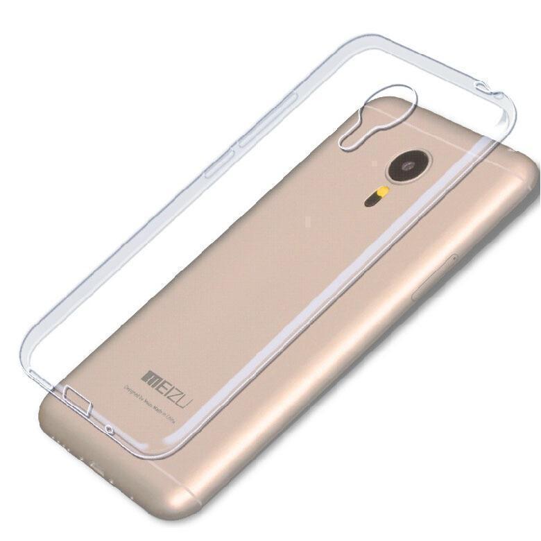 Чехол-накладка для Meizu M3s / M3 Mini силиконовый прозрачный