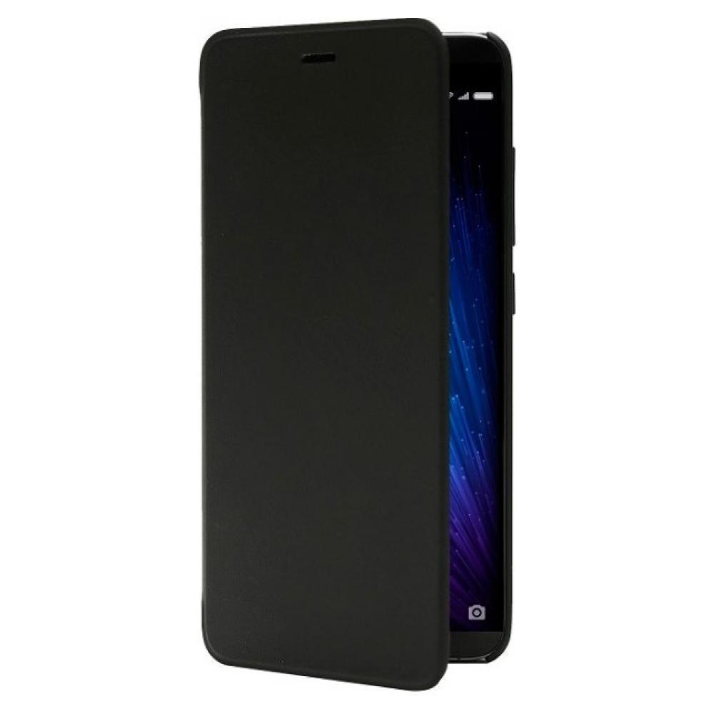 Купить Чехол-книжка Flip Case для Xiaomi Redmi Note 5A искусственная кожа, силикон черный