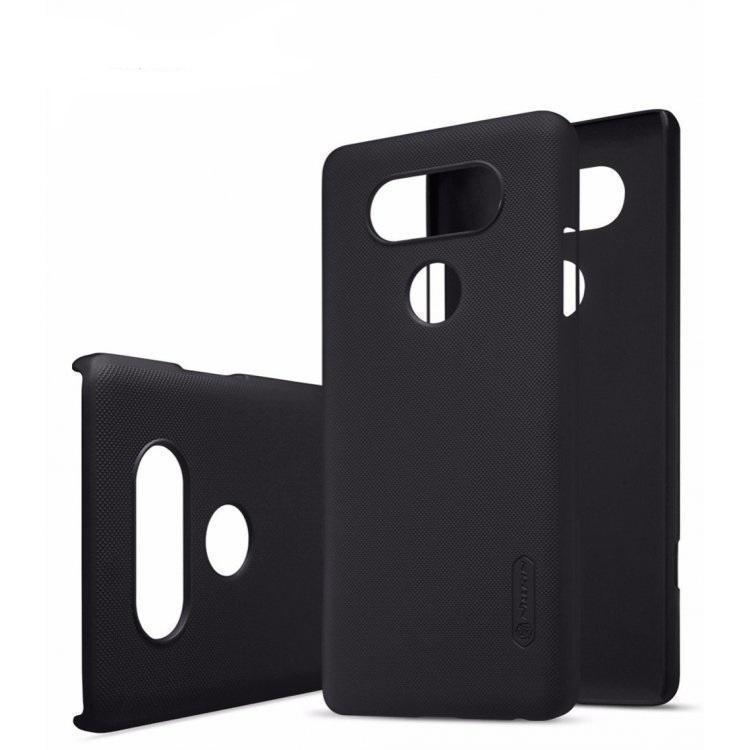 Чехол-накладка Nillkin Frosted Shield для LG V20 / V20 Dual пластиковый черный