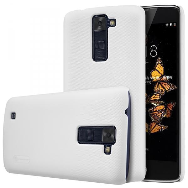 Чехол-накладка Nillkin Frosted Shield для LG K8 (K350E) пластиковый белыйдля LG<br>Чехол-накладка Nillkin Frosted Shield для LG K8 (K350E) пластиковый белый<br>