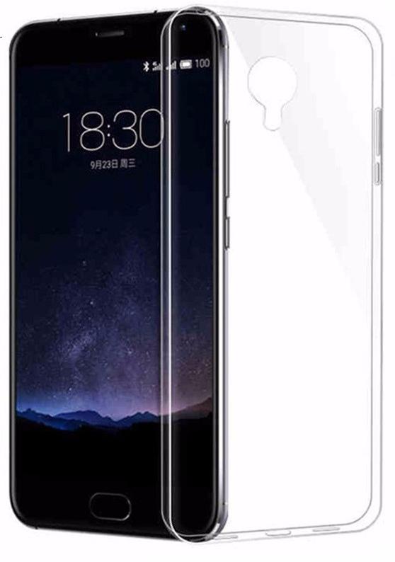 Чехол-накладка для Meizu MX4 Pro силиконовый прозрачный