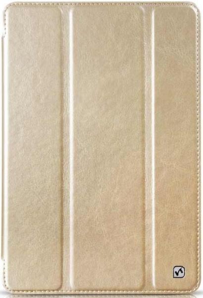 Чехол-книжка Hoco Crystal Series для Apple iPad mini 1/2/3 (искусственная кожа с подставкой) gold