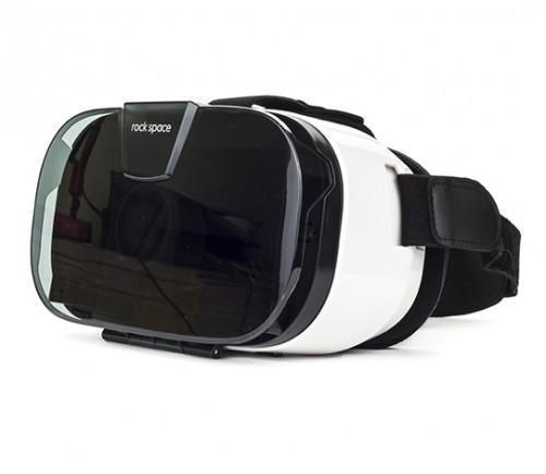 Очки-шлем виртуальной реальности Rock S01 3D VR Headset (ROT0730) WhiteИгровые приставки, геймпады и комплектующие<br>Очки-шлем виртуальной реальности Rock S01 3D VR Headset (ROT0730) White<br>